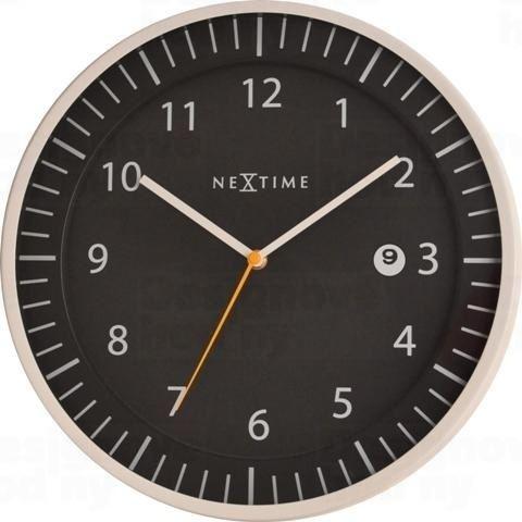 Dizajnové nástenné hodiny 3058zw Nextime Quick 35cm