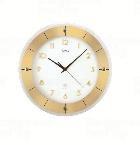 Nástenné hodiny 5850 AMS riadené rádiovým signálom 31cm