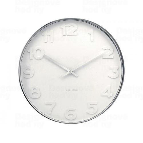 Dizajnové nástenné hodiny 4381 Karlsson 51cm