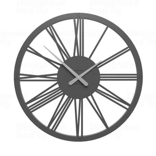 Dizajnové hodiny 10-207 CalleaDesign 60cm (viac farieb) Farba grafitová (tmavo šedá) - 3