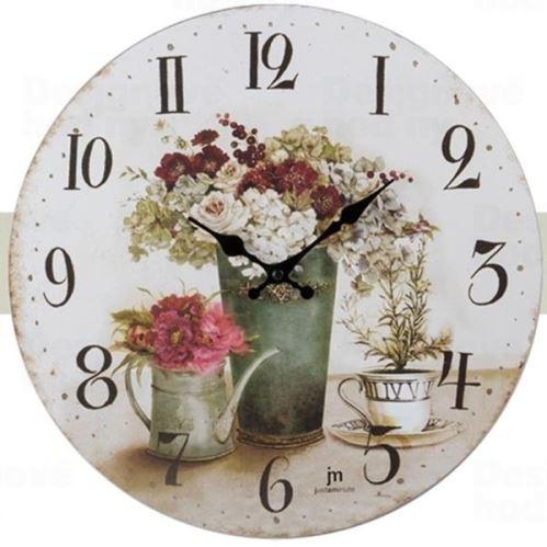 Dizajnové nástenné hodiny 21454 Lowell 34cm