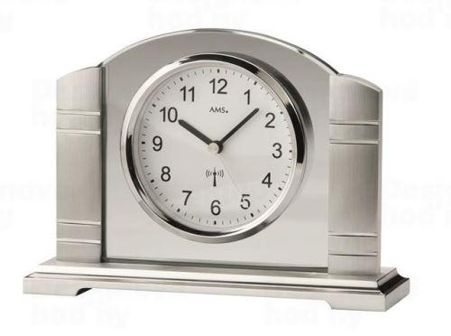 Stolové hodiny 5142 AMS riadené rádiovým signálom 19cm