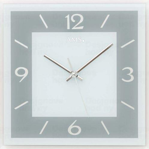 Nástenné hodiny 9573 AMS 30cm