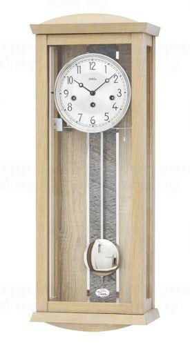 Luxusné kyvadlové mechanické nástenné hodiny 2745 AMS 66cm