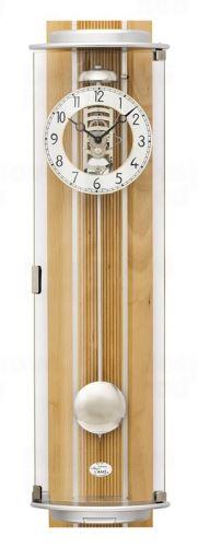 Luxusné nástenné mechanické kyvadlové hodiny 2715/18 AMS 77cm