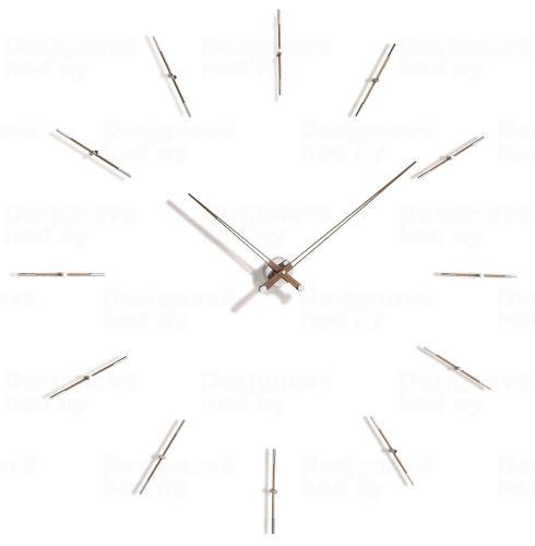 Dizajnové nástenné hodiny Nomon Merlin 12W 125cm