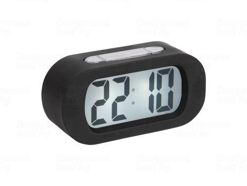 Stolové digitálne hodiny-budík Karlsson KA5753BK