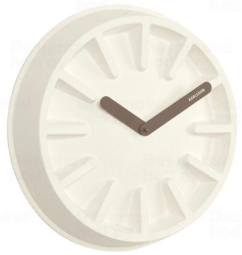 Dizajnové nástenné hodiny KA5571WH Karlsson 40cm