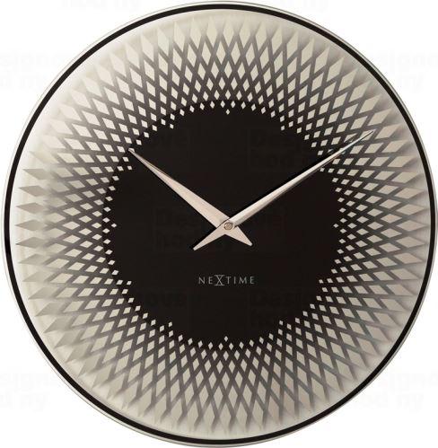 Dizajnové nástenné hodiny 8186zi Nextime Sahara 43cm