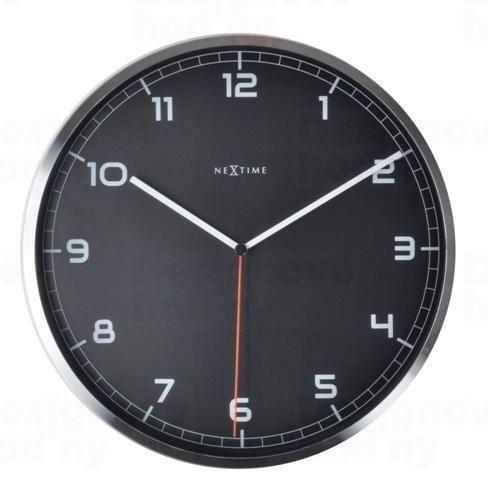 Dizajnové nástenné hodiny 3080zw Nextime Company number 35cm