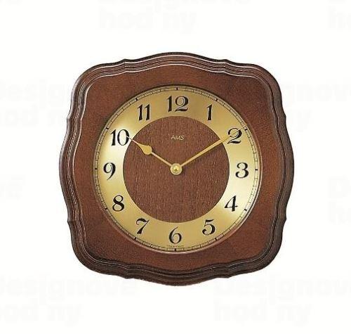 Nástenné hodiny 5862/1 AMS riadené rádiovým signálom 26cm