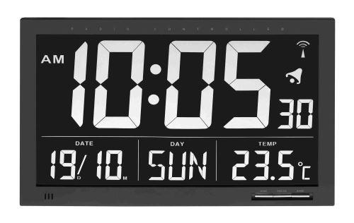 Rádiom riadené nástenné hodiny veľ. XL TFA 60.4505