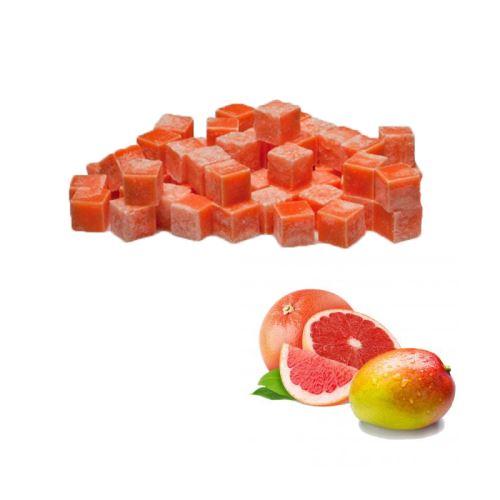 Scented cubes vonnný vosk do aromalámp - grapefruit & mango (grep a mango), 8x 23g