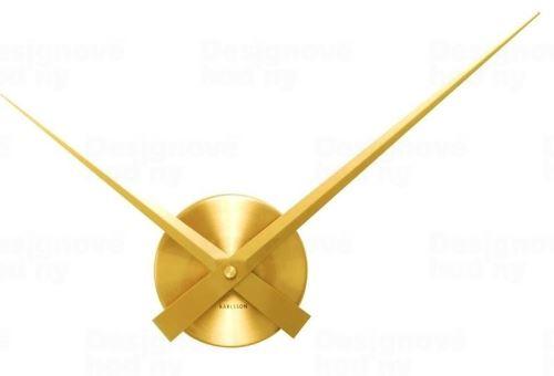 Dizajnové nástenné hodiny KA4348GD Karlsson 44cm