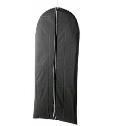 Obal na obleky a dlhé šaty Compactor 60 x 137 cm - čierny