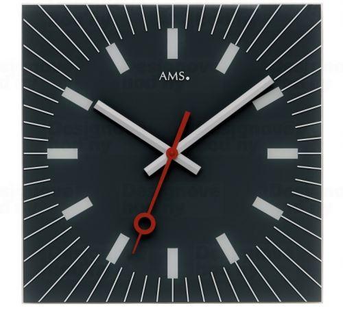 Dizajnové nástenné hodiny 9575 AMS 35cm