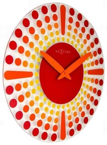 Dizajnové nástenné hodiny 8182ro Nextime Dreamtime 43cm