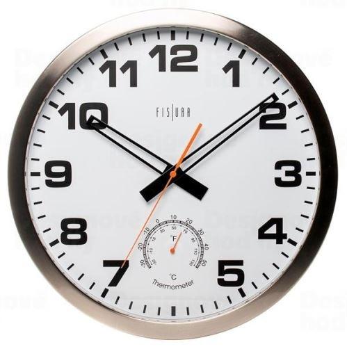 Dizajnové nástenné hodiny CL0072 fisúry 40cm