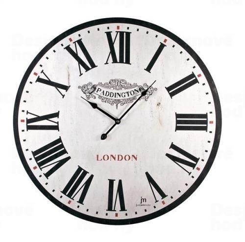 Dizajnové nástenné hodiny 21418 Lowell 60cm