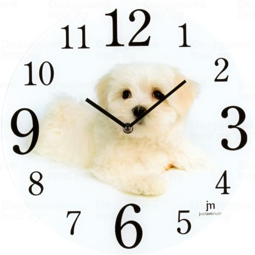 Dizajnové nástenné hodiny 14888 Lowell 34cm
