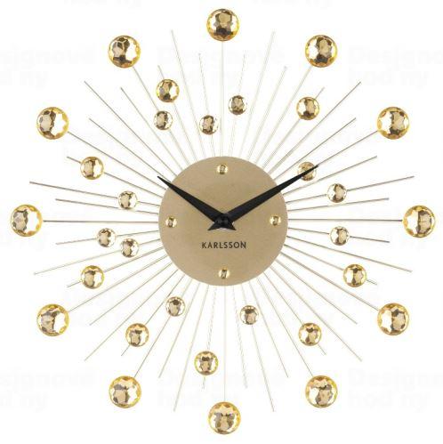 Dizajnové nástenné hodiny 4860GD Karlsson 30cm