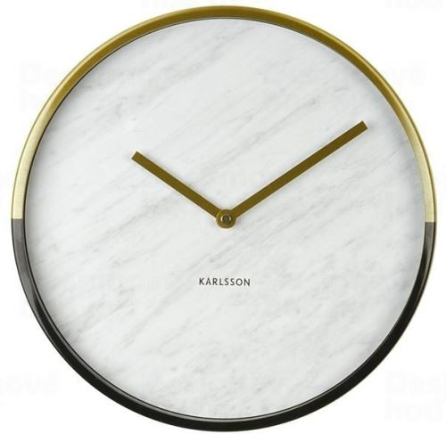 Dizajnové nástenné hodiny 5606WH Karlsson 30cm