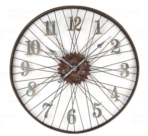 Dizajnové nástenné hodiny 21457 Lowell 60cm