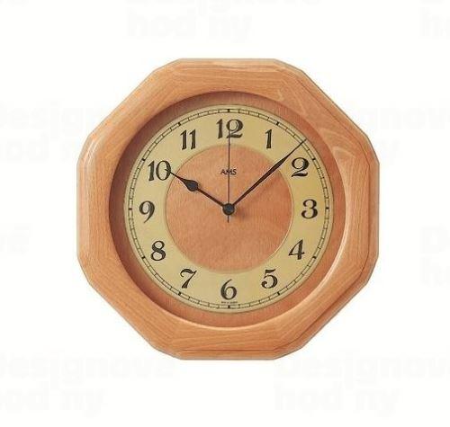 Nástenné hodiny 5859/18 AMS riadené rádiovým signálom 28cm