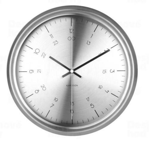 Dizajnové nástenné hodiny KA5597SI Karlsson 30cm