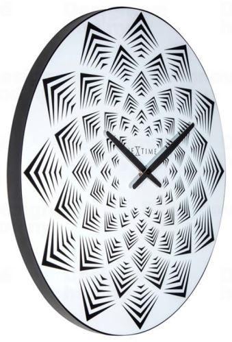 Dizajnové nástenné hodiny 3130 Nextime Bloom 39cm