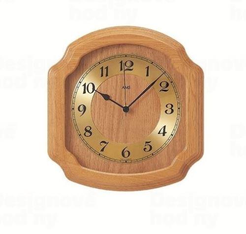 Nástenné hodiny 5801/5 AMS riadené rádiovým signálom 28cm
