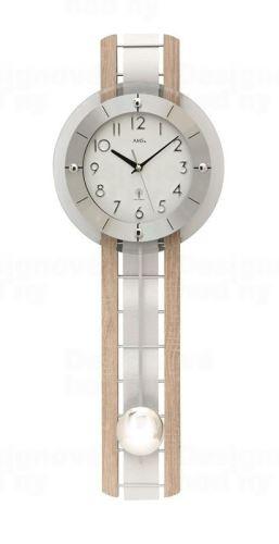 Kyvadlové nástenné hodiny 5282 AMS riadené rádiovým signálom 68cm