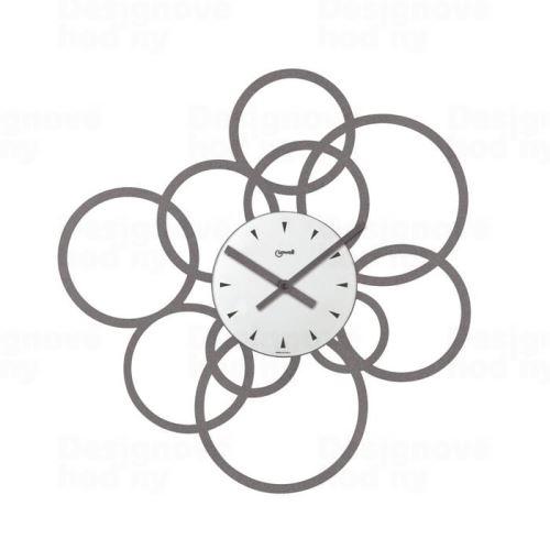 Dizajnové nástenné hodiny Lowell 05724G Design 43cm