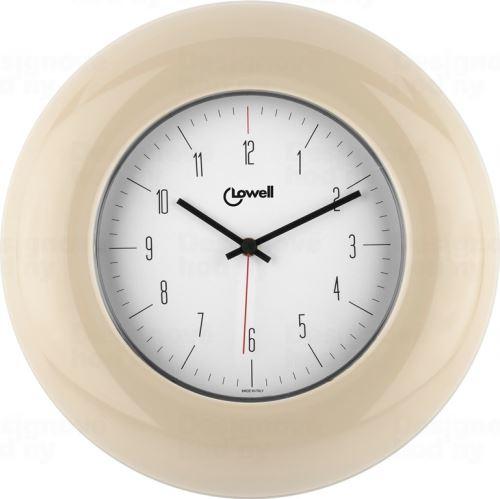 Dizajnové nástenné hodiny 03300C Lowell 33cm
