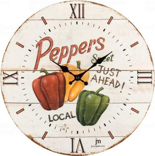 Dizajnové nástenné hodiny 21491 Lowell 34cm