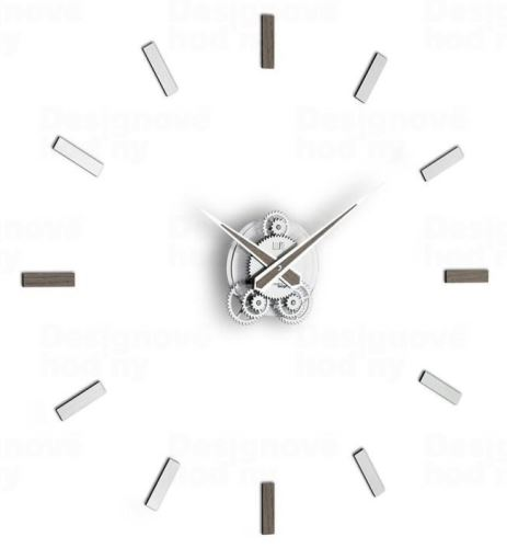 Dizajnové nástenné hodiny I201GRA IncantesimoDesign 80cm