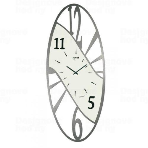 Dizajnové nástenné hodiny Lowell 05708 Design 70cm