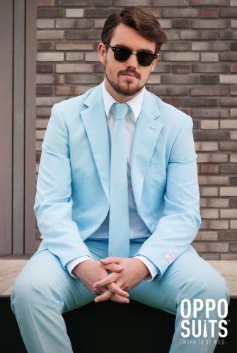 Oblek OppoSuits COOL BLUE, veľkosť 52