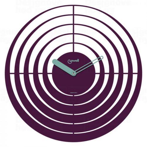 Dizajnové nástenné hodiny Lowell 05841 Design 40cm