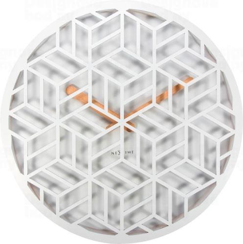 Dizajnové nástenné hodiny 3215wi Nextime Discrete 36cm