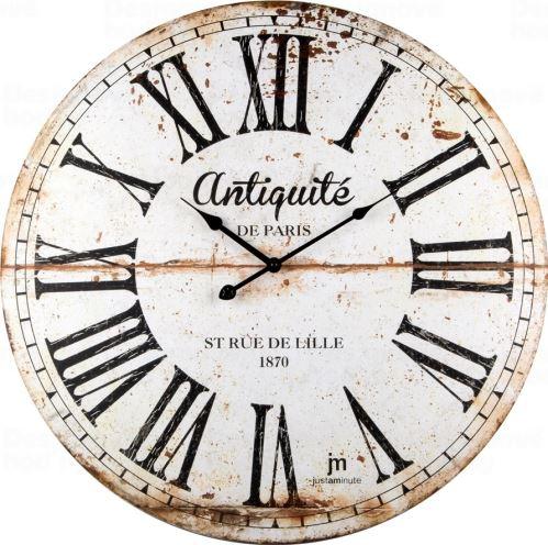 Dizajnové nástenné hodiny 21483 Lowell 60cm