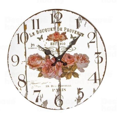 Dizajnové nástenné hodiny 14879 Lowell 33cm