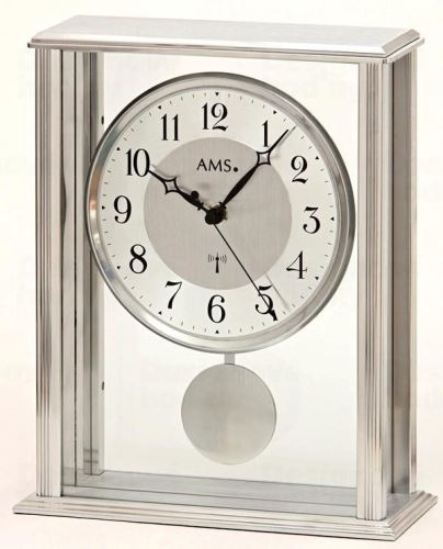 Stolové kyvadlové hodiny 5190 AMS riadené rádiovým signálom 25cm