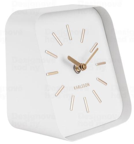 Dizajnové stolové hodiny KA5718WH Karlsson 15cm