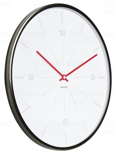 Dizajnové nástenné hodiny 5644WH Karlsson 40cm