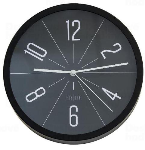 Dizajnové nástenné hodiny CL0292 fisúry 30cm