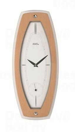 Nástenné hodiny 9357 AMS 44cm