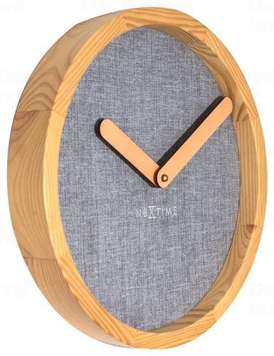 Dizajnové nástenné hodiny 3155gs Nextime Jeans Calm 30cm