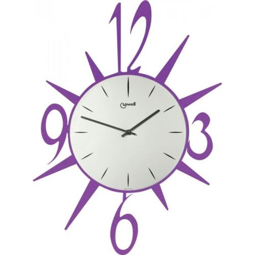 Dizajnové nástenné hodiny Lowell 05707V Design 53cm