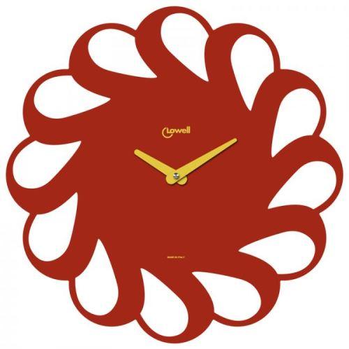 Dizajnové nástenné hodiny Lowell 05838R Design 40cm